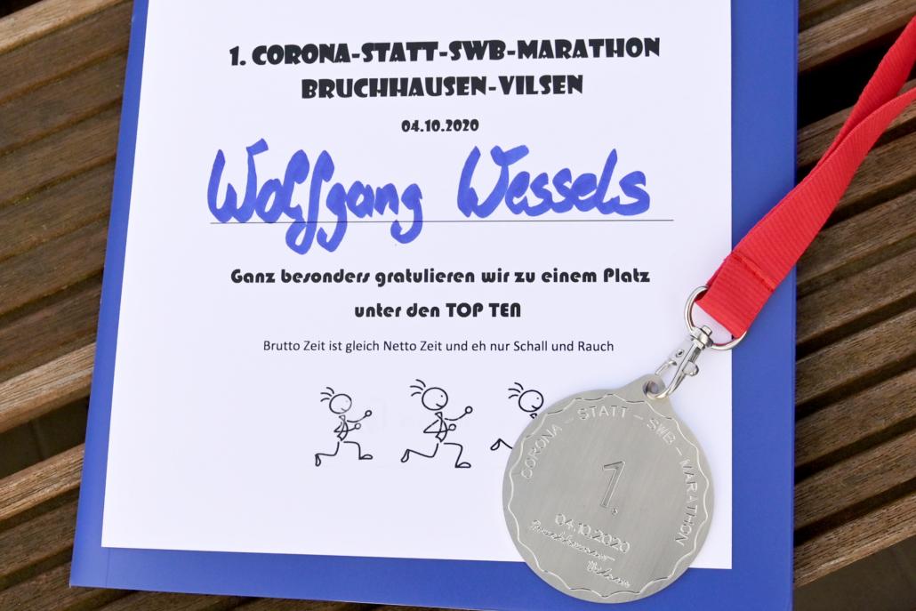 Urkunden und Medaillen in limitierter Auflage für alle Starter.