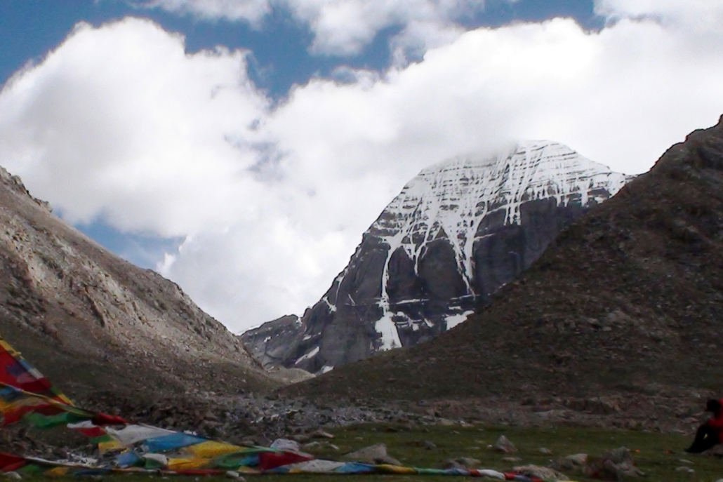 Der heilige Berg Kailash in Tibet.