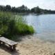 Das Foto zeigt einen Blick auf den Oytener See.