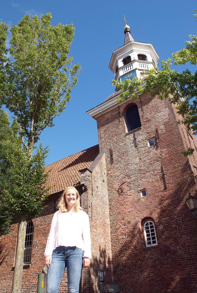 Kirche Gudrun Nicolaus Neustadtgödens Friesland Pastorin Glauben Religion