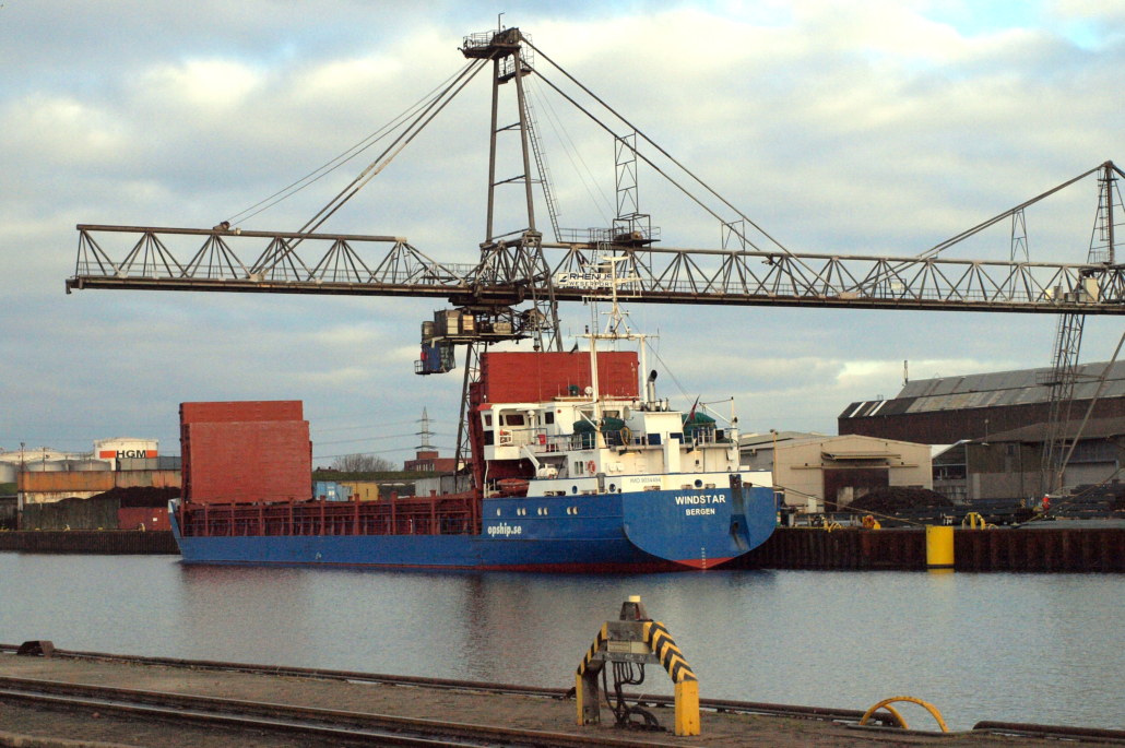 Hafen Ladung Schifffahrt