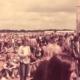 so war das damals, Festival Feeling in den achtziger Jahren. Auf diesem Foto nicht in Bruchhausen Vilsen, sondern in Wildeshausen.
