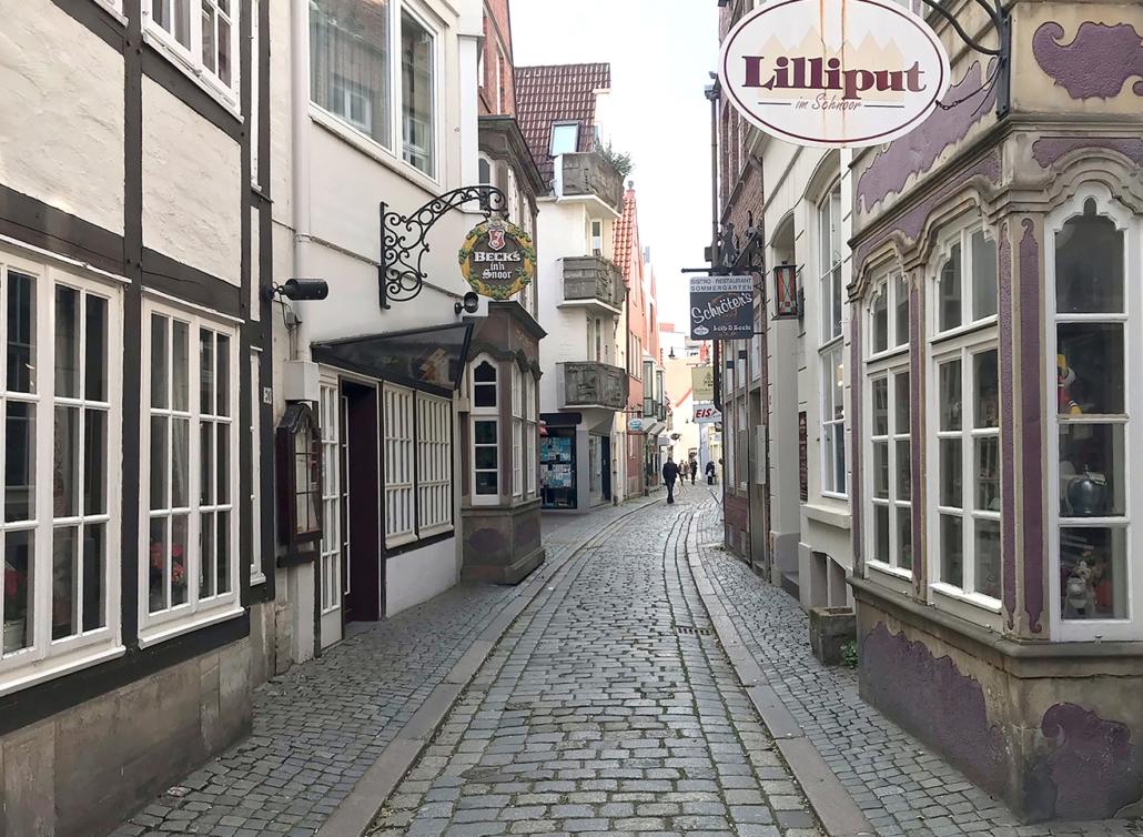 Das Bremer Schnoor-Viertel