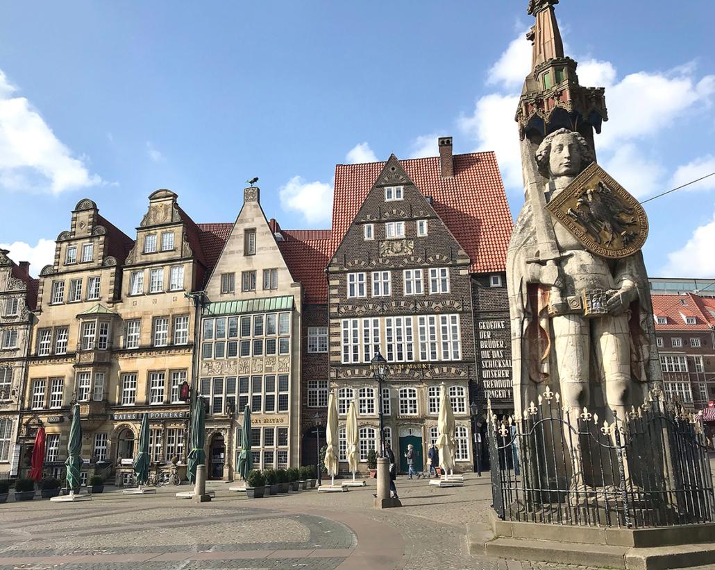 Bremer Roland und Marktplatz