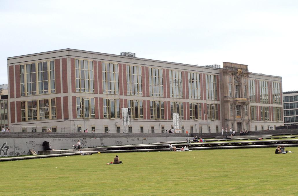 Das Gebäude des ehemaligen Staatsrats der DDR.