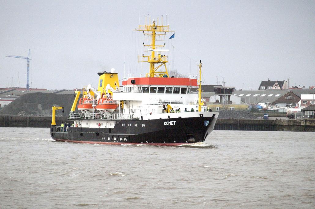 Das Behördenschiff