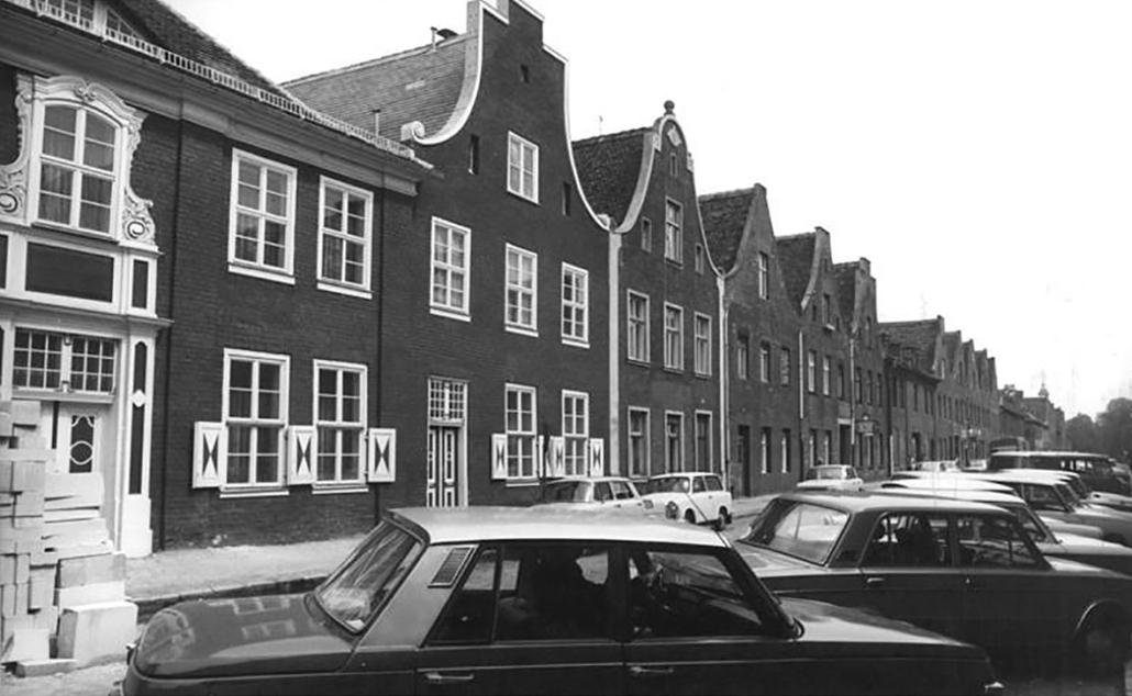 Das Holländische Viertel in Potsdam.