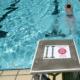 Klare Ansage, für welche Schwimmer diese Bahn geeignet ist.