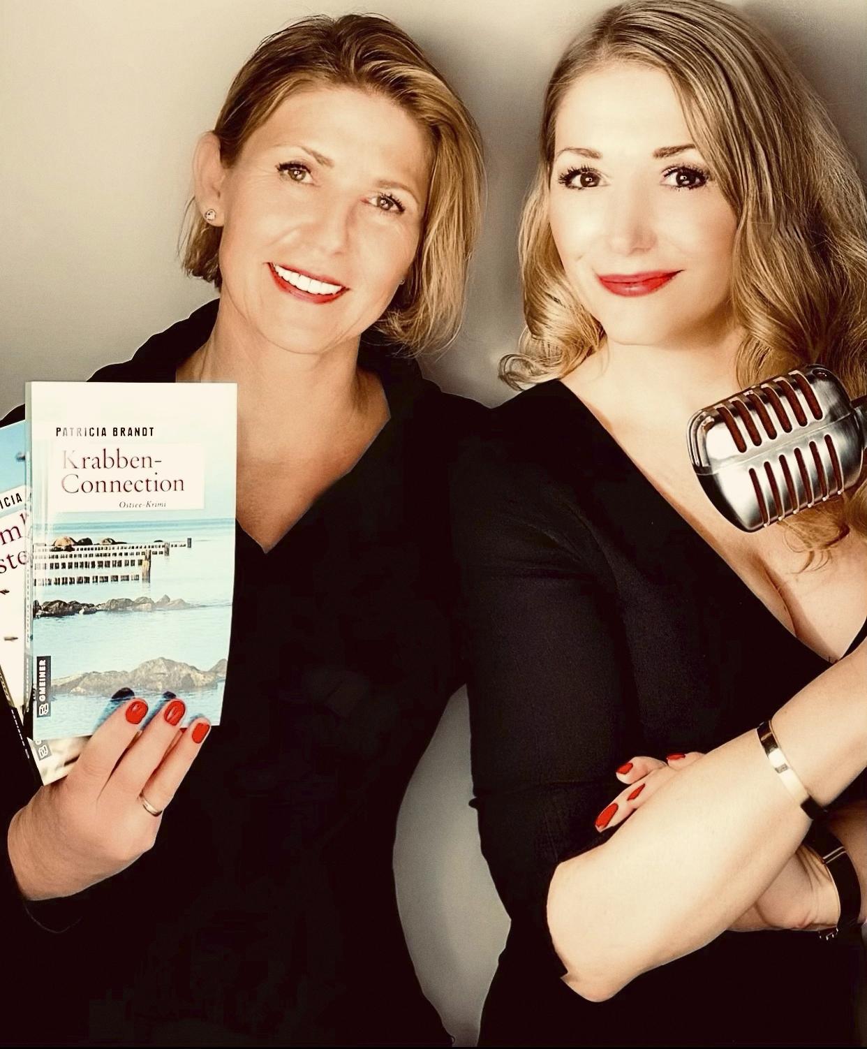 Autorin Patricia Brandt und Schauspielerin Sandra Quadflieg